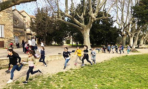 cross épreuve sportive école Petit Castelet