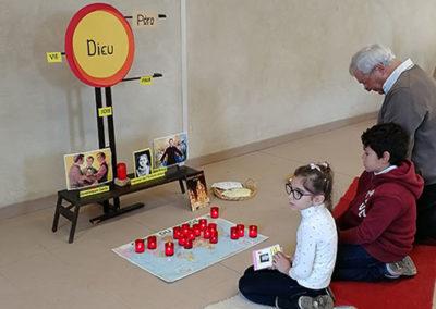 enfants qui prient