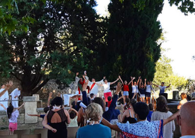 vie spirituelle fête école petit castelet