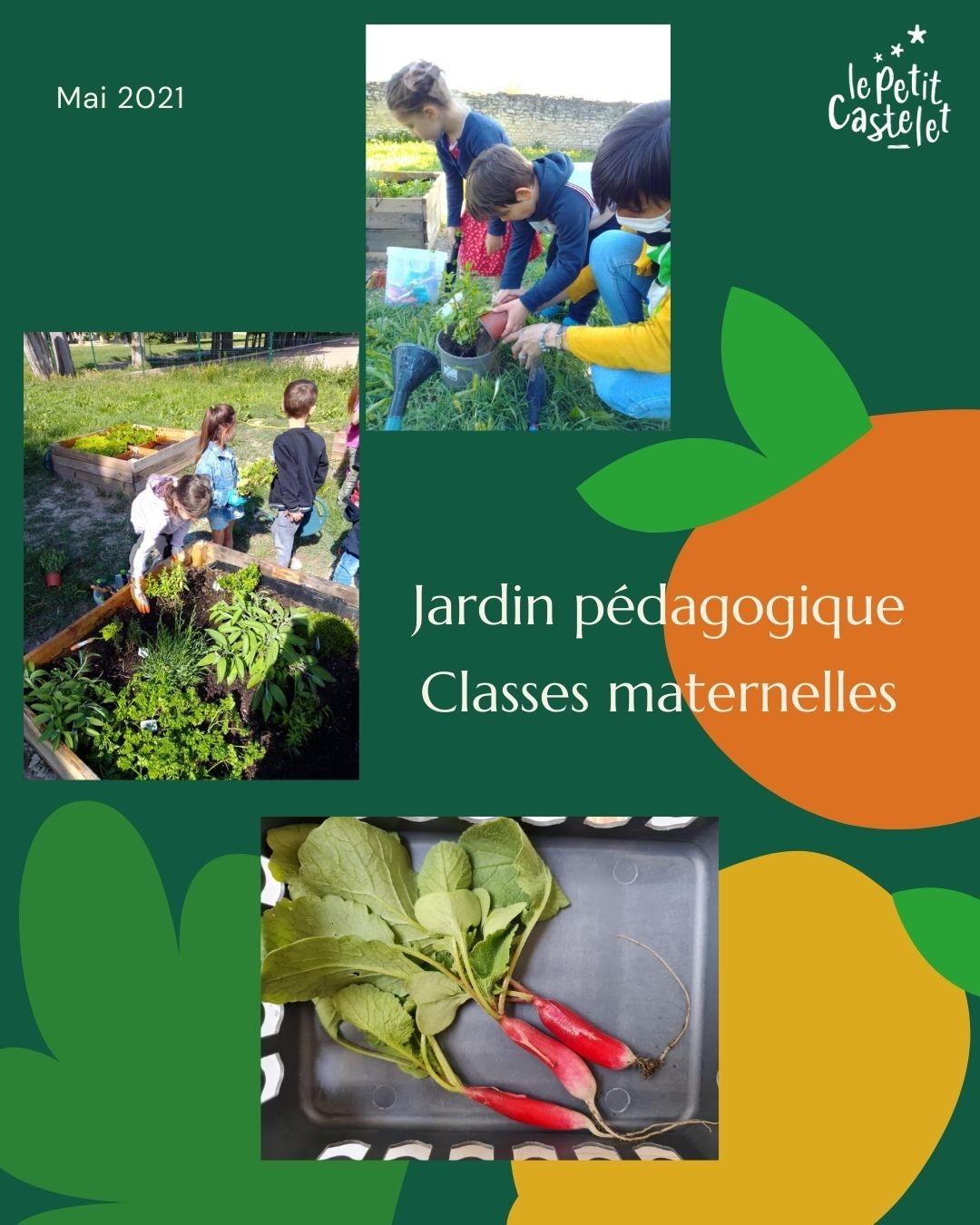 Jardin pédagogique Maternelle