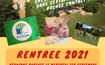 RENTREE 2021 AU PETIT CASTELET